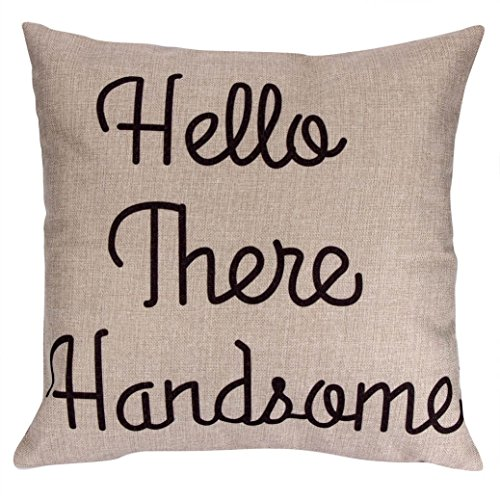 Iuhan Fashion Pillow Case Sofa Waist Throw Cushion Cover Home Decor (C) - New Girls Bobby Jack