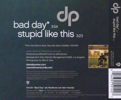 Bad Day (2track) [Single] [Audio CD] Powter,Daniel
