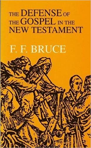 Book The Defence of the Gospel in the New Testament by Frederick Fyvie Bruce (1981-08-03)