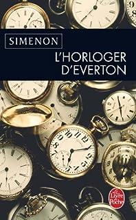 L'horloger d'Everton, Simenon, Georges