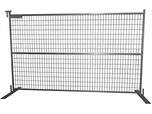 (Broadfence Select Temporary Construction Fence Panels Welded Steel Wire Mesh Portable Gate, Safety Chain Link)
