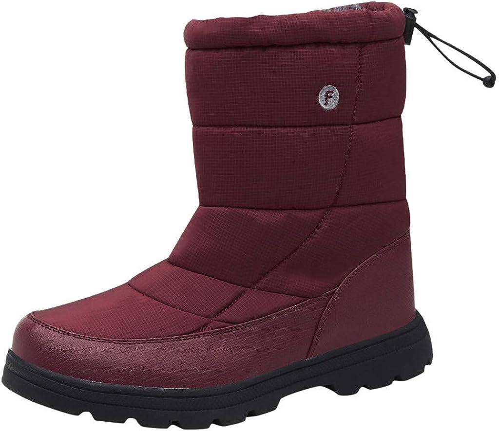 Womens Snow Boots Winter Ankle Short Bootie Waterproof Footwear Warm Shoes