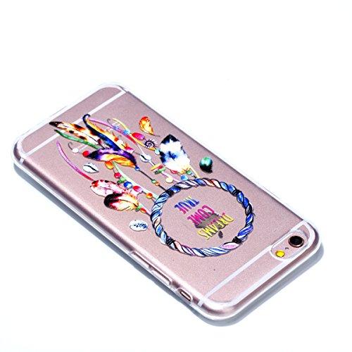 iPhone 6S Plus /iPhone 6 Plus 5.5Patrón de choque resistente a los golpes TPU Funda, Funda de Silicona Suave Case Cover Protección cáscara Soft Gel TPU Carcasa Funda para Apple iPhone 6 Plus /iPhone  image-3