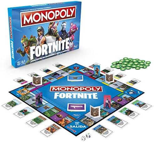 Monopoly - Fortnite (Hasbro E6603190) - Versión en Portugués: Amazon.es: Juguetes y juegos