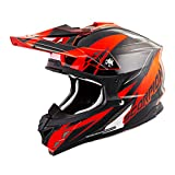 Scorpion VX-35 KRUSH Off Road-ATV Motorcycle Helmet Neon Orange Xsmall