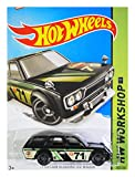 datsun wagon hot wheel - Hot Wheels, 2015 KMart [K-Day] Exclusive, HW Workshop '71 Datsun Bluebird 510 Wagon [Black] Die Cast Vehicle 202/250