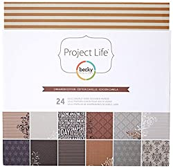 Project Life By Becky Higgins 12x12 Designer Paper - Cinnamon Edition