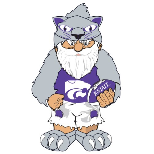 Wildcats Team Gnome - Kansas State Team Thematic Gnome