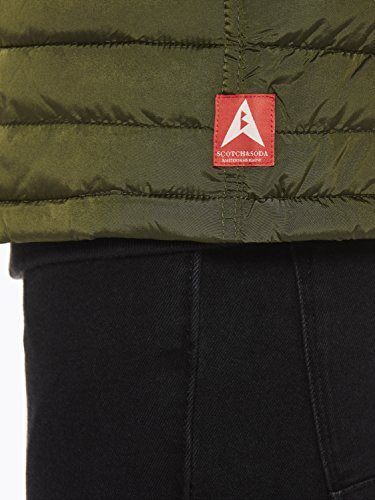 Verde amp; Green 0j Quilted Uomo Jacket Fake Simple military Soda Down Giacca Scotch SUzHU