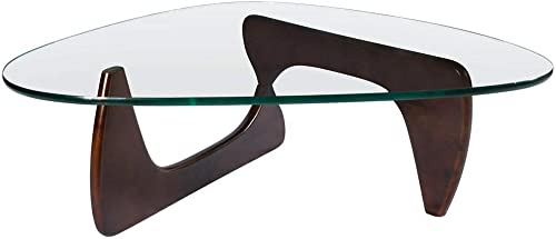 Triangle Glass Coffee Table - a good cheap living room table