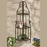 Touch of Class Fruitful Love Corner Etagere Bronze