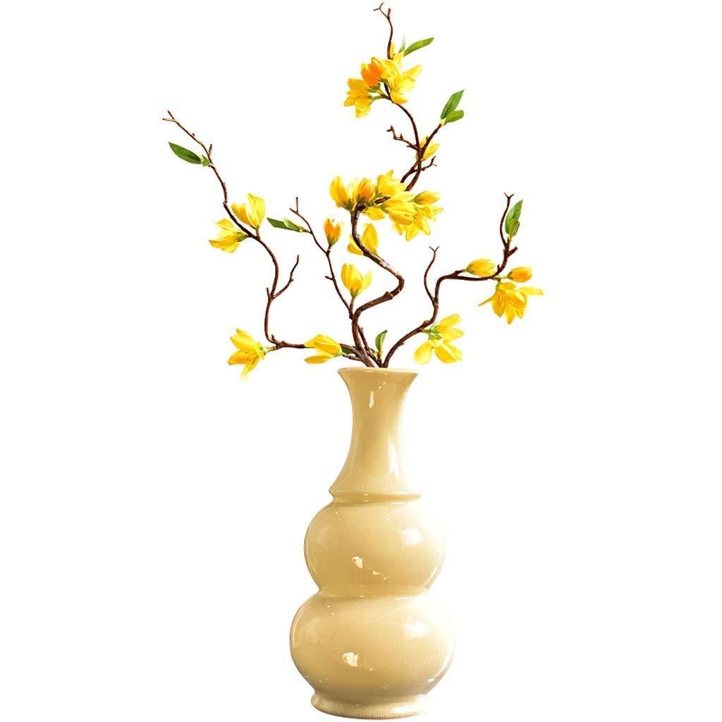 円柱装飾花瓶 花瓶AXZHYZ19060601シンプルなセラミックリビングルームの装飾ドライフラワーインサータ装飾装飾35センチ12.5センチ8.5センチ 写真円柱装飾花瓶ライフ花瓶フラワーショップブーケボックス B07SQ9JPGL