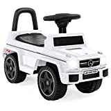 Best Choice Products Kids Luxury Mercedes G63 Convertible Foot-to-Floor Ride-On Push Car Toy Buggy w/ Lights and Horn