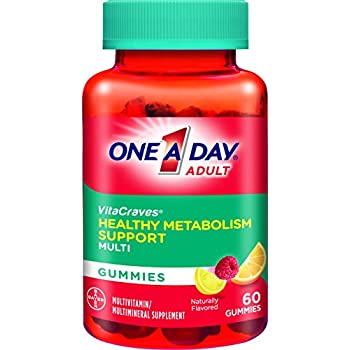 One A Day VitaCraves Healthy Metabolism Support Multivitamin Gummies, 60 Count