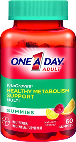 One A Day VitaCraves Healthy Metabolism Support Multivitamin Gummies, 60 ()