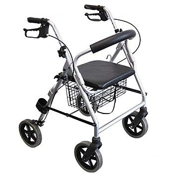 Fácil de rehabilitación-L.53 Ligero andador con ruedas ...