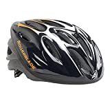 Rollerblade Workout Helmet, Unisex, Black and Orange,  Medium