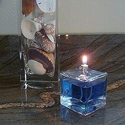 Firefly Aura Petite Square Refillable Glass Oil La