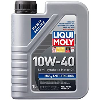 liqui moly 2042 mos2 anti friction 10w 40 motor oil 1 liter bottle automotive. Black Bedroom Furniture Sets. Home Design Ideas