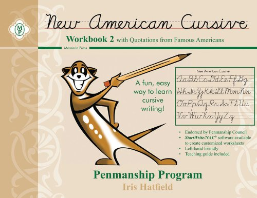 New American Cursive II (Quotations from Famous Americans)