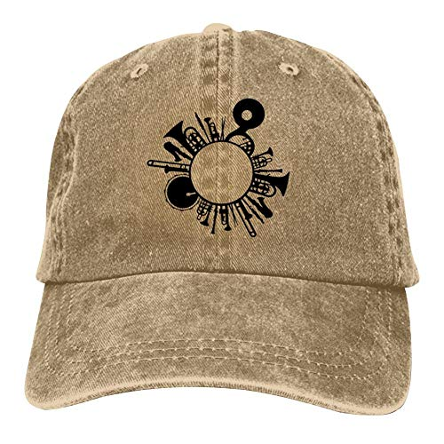 (YYanshd Musical Instrument Cap Adjustable Hip Hop Hat Classic Baseball Cap)
