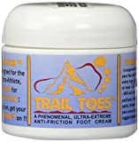Trail Toes: Phenomenal Ultra-Extreme, Anti-Friction Foot and Body Cream 1 Pack of 2 oz