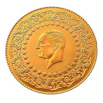 Original Und Neu Turkische Goldmunze 25 Amazon De Elektronik