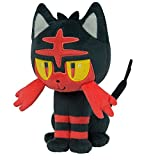 TOMY T19324 Pokémon Small Plush, Litten