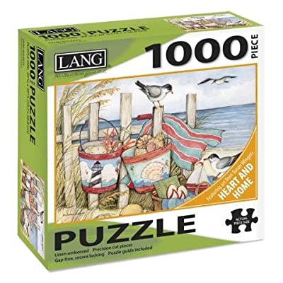 LANG Sand Buckets 1000 Piece Jigsaw Puzzle: Toys & Games