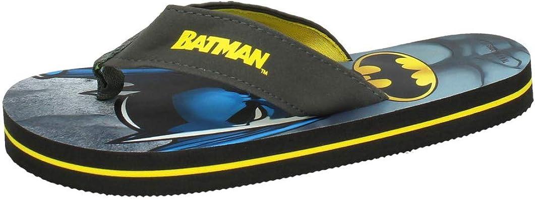 MADE IN SPAIN 2300002382 Chanclas DE Batman NIÑO Sandalias Negro 37: Amazon.es: Zapatos y complementos