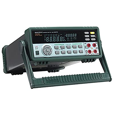 MS8050 Bench Top Multimeter with 53000 Counts Digital Multimeter True RMS RS232C Interface with Color VFD Double Display