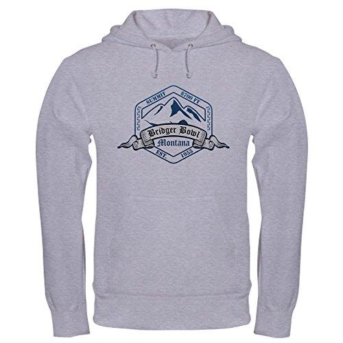 CafePress - Bridger Bowl Ski Resort Montana Hoodie - Pullover Hoodie, Classic & Comfortable Hooded Sweatshirt (Bridger Bowl)