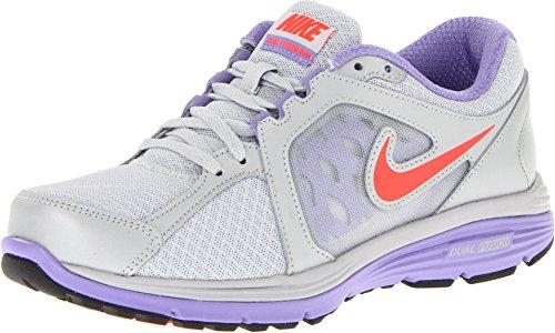 NIKE Kids' Revolution 3 (TDV) Running Shoe, Purple Earth Dark Raisin/White, 2 M US Infant