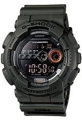 Casio G-Shock Watches GD100MS-3 BLACK BLACK
