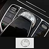 TopDall AMG Interior Media Control Sticker Affalterbach Tree Logo for Mercedes Benz: more info