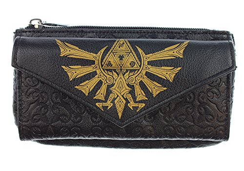 Nintendo The Legend of Zelda Triforce Front Flap Womens Wallet from Bioworld