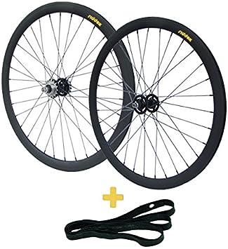 RIDDOX 700 C 28 Pulgadas Rueda de Bicicleta Ruedas Fixie ...