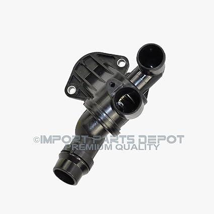 Audi / Volkswagen Engine Thermostat + Housing Premium HD Quality 06F121111F