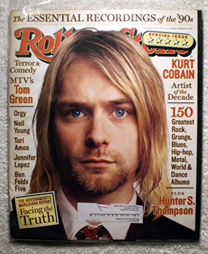 (Kurt Cobain (Nirvana) - Artist of The Decade - Rolling Stone Magazine - #812 - May 13, 1999 - The Essential Recordings of The 90s)