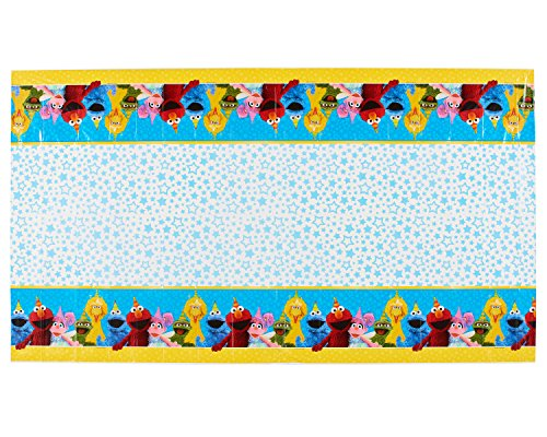 Table Cover | Sesame Street Collection | Party Accessory]()