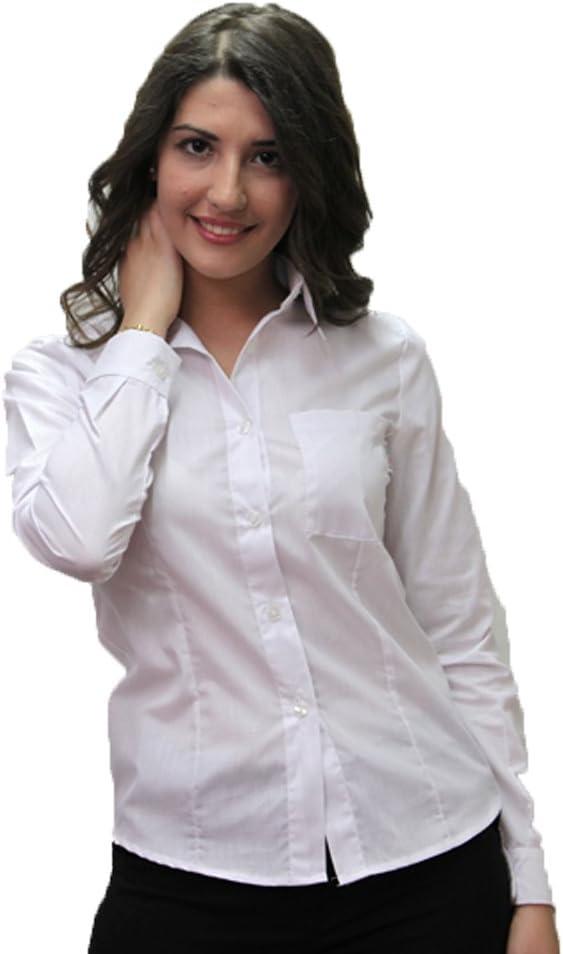 Fratelliditalia Camisa Blusa para Mujer Trabajo hoteleros ...