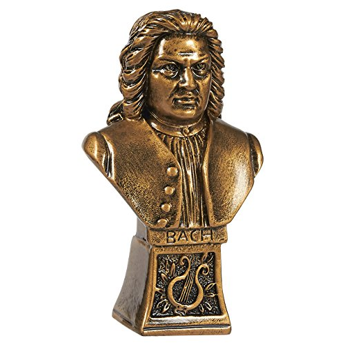 Gold Resin Award - Juvale Golden Music Trophy - Small Resin Gold Award Trophy for Music Competitions, Parties, 5.25 x 2.75 x 1.75 Inches