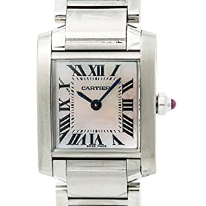 Cartier Tank Francaise quartz womens Watch W51008Q3 (Certified Pre-owned)
