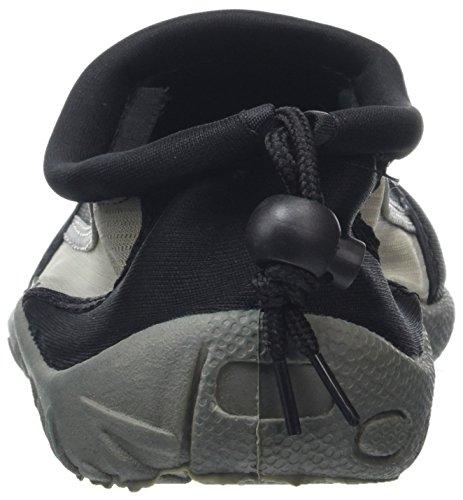 Negro Hombre Negro Mocasines Textil Aqua Gumbies qRTZ1w4XP4