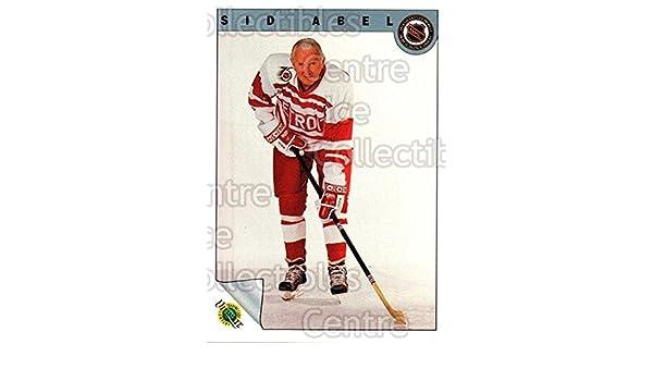 Amazon.com  (CI) Sid Abel Hockey Card 1991-92 Ultimate Original Six (base)  66 Sid Abel  Collectibles   Fine Art 4866a63b1