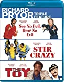 Richard Pryor Triple Feature (See No Evil, Hear No Evil / Stir Crazy / The Toy) [Blu-ray] by Image Entertainment by Richard Donner, Sidney Poitier Arthur Hiller