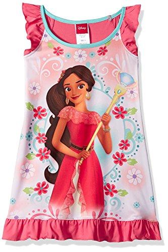 Elena of Avalor Girls Nightgown Pajamas (2T, Elena Pink)