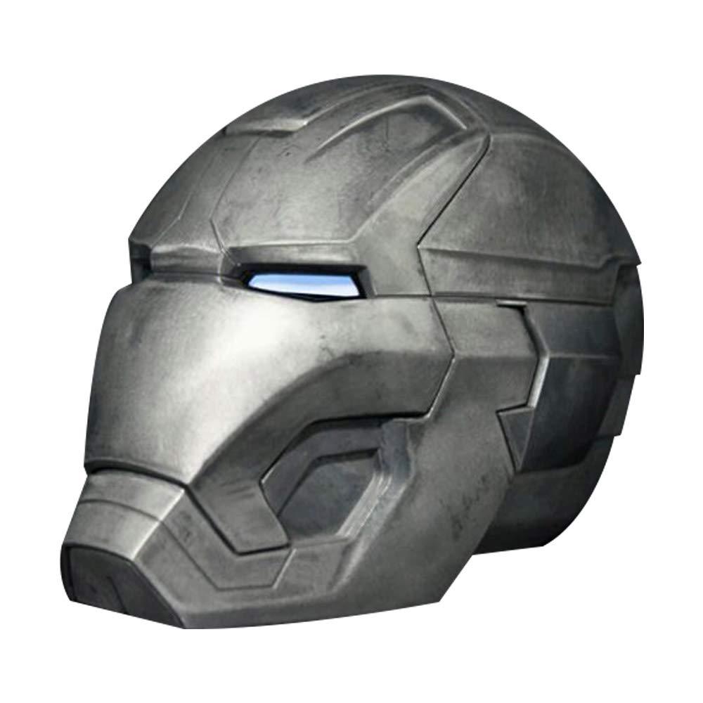 nueva gama alta exclusiva C Qi Tai-Los Vengadores Iron Man Man Man All Metal 1  1 Casco de Control Remoto, usable Tony Estrellak Mark 42 MásCochea de CosJugar MK43 Accesorios LED Light Eyes - Pantalla Modelo de Personaje (Color   B)  increíbles descuentos