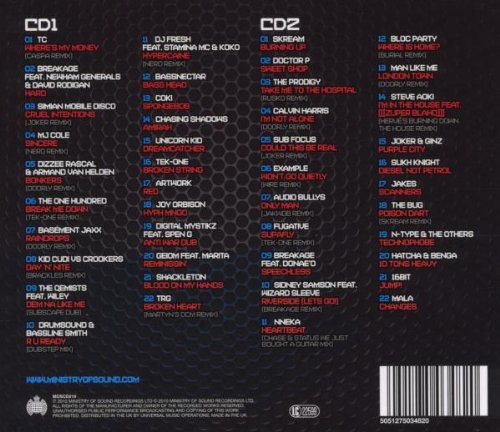 Ministry of Sound: Sound of Dubstep / Various