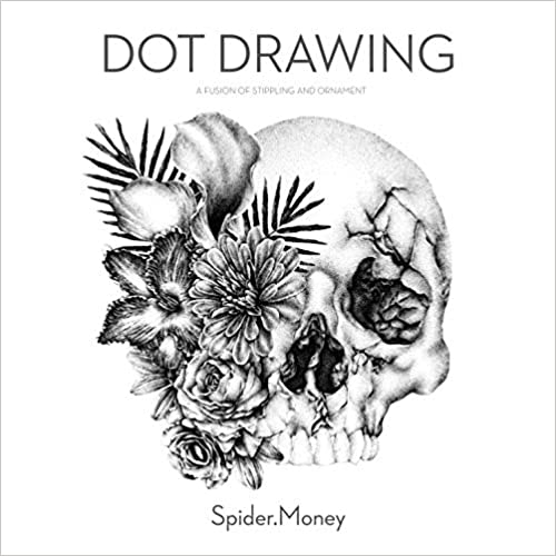Dot drawing:a fusion of stippling and ornament